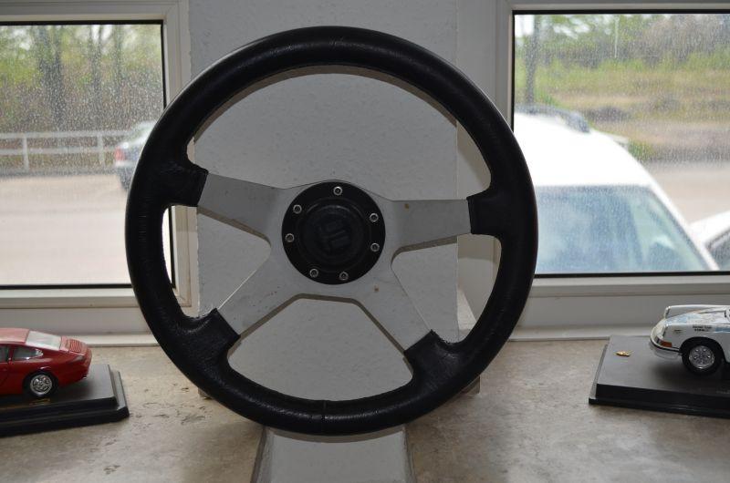 Sportlenkrad aus Leder 350mm Image